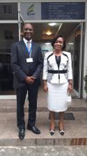 Visite de courtoisie du Secrétaire Exécutif de la CIPRES.